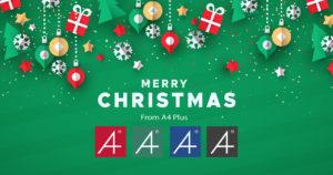 A4 Plus - Happy Christmas 2020